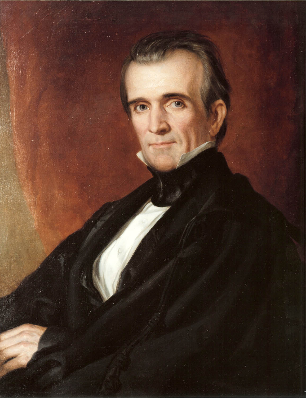 1846 president polk declares war on mexico